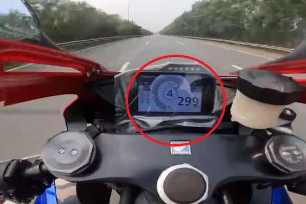 Siêu mô tô giá 1 tỷ đồng cbr 1000, vi phạm tốc độ 299 km/h trên Đại lộ Thăng Long